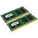 【送料無料】Crucial CT2KIT102464BF160B ノート用メモリー SODIMM DDR3L PC3-12800 8GB 2枚組
