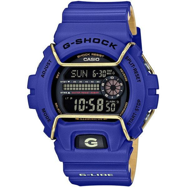 【送料無料】CASIO GLS-6900-2JF G-SHOCK [クォーツ腕時計(メンズウォッチ)] 世界のエクストリームスポーツのトップアスリートから支持を受け、サポートしているG-SHOCKのスポーツライン、「G-LIDE(Gライド)」の2016年ウィンターバージョンが登場。