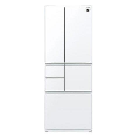 【送料無料】SHARP SJ-GT51C-W ピュアホワイト [プラズマクラスター冷蔵庫 (505L・フレンチドア・6ドア)]
