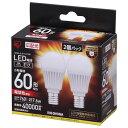 アイリスオーヤマ LDA8L-G-E17-6T32P [LED電球(E17口金・60W相当・760lmm・電球色)]