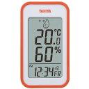 TANITA TT-559-OR オレンジ [デジタル温湿度計] タニタ 温度計 湿度計 部屋 室内 温度調整 熱中症対策