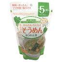 田靡製麺 赤ちゃんそうめん ほうれん草 (5ヶ月から幼児期まで) 100g