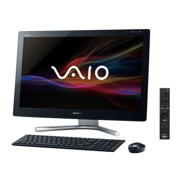 【送料無料】SONY SVL24148CJB ブラック VAIO Lシリーズ [デスクトップパソコン 24型ワイド液晶 HD...