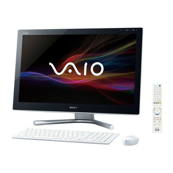 【送料無料】SONY SVL24148CJW ホワイト VAIO Lシリーズ [デスクトップパソコン 24型ワイド液晶 HD...