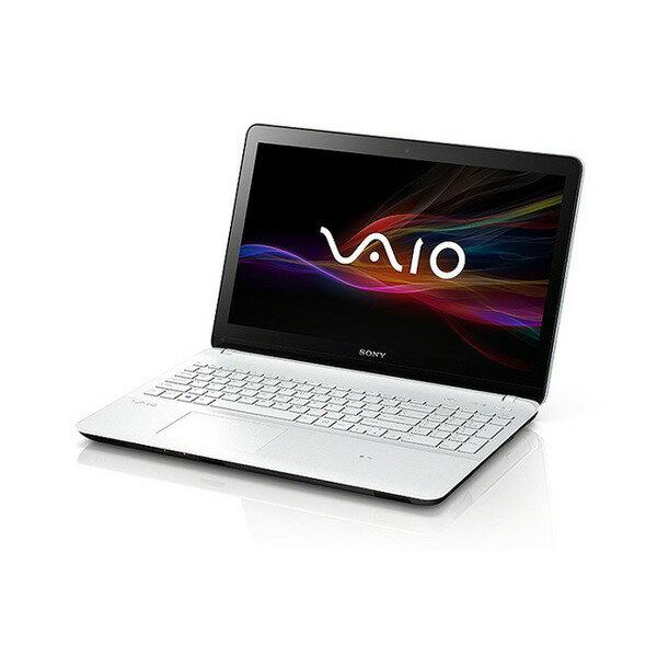 【送料無料】SONY SVF15218CJW ホワイト VAIO Fit 15E [ノートパソコン/15.5型ワイド液晶/HDD1TB/...