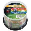 磁気研究所 HDD+R85HP50 HI DISC [DVD+R DL 8倍速 50枚]
