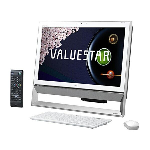 NEC PC-VS370RSW ファインホワイト VALUESTAR S [デスクトップパソコン 21.5型ワイド液晶 HDD1TB D...