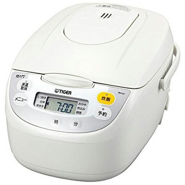 【送料無料】TIGER JBH-G101-W ホワイト 炊きたて [マイコン炊飯ジャー (5.5合)]