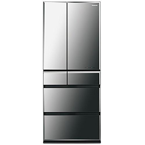 【送料無料】PANASONIC NR-F602WPV-X オブシディアンミラー [冷蔵庫 (601L・フレンチドア・6ドア)]
