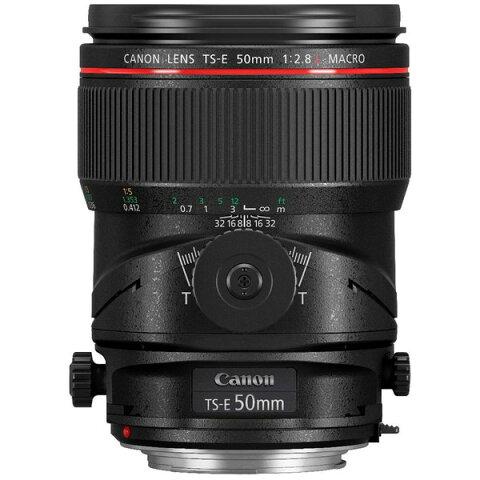 【送料無料】CANON TS-E50 F2.8L MACRO [交換レンズ 50mm/F2.8 マクロ (キヤノンEFマウント)]