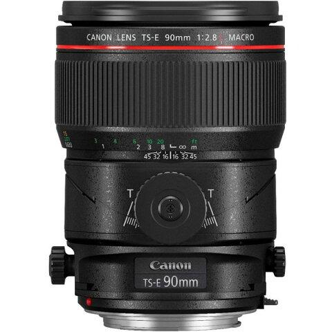 【送料無料】CANON TS-E90 F2.8L MACRO [交換レンズ 90mm/F2.8 マクロ (キヤノンEFマウント)]