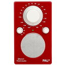 Tivoli Audio PALBT-1771-JP Tivoli PAL BT Glossy Red [Bluetoothワイヤレス AM/FMラジオスピーカー]
