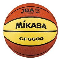 MIKASA CF6600 [バスケット6号(一般・大学・高校・中学) 女子用 検定球 天然皮革 茶/黄]の画像