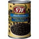 S&W ブルーベリー 4号缶 ×12