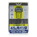 オルディ ニチパック ポリ袋・ゴミ袋 CPN112 45L 黒 30P