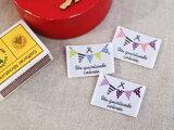 Pres-deオリジナル ガーランドタグ 3枚セット■ハンドメイド作品のワンとしてお使いいただける手芸用刺繍タグです