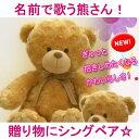 歌う熊さんのぬいぐるみ(シングベア)(お誕生日プレゼント 記...