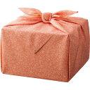 「幸せの宝箱」二段重ね 日本製風呂敷包み (女性向・ピンク) (OJYU-SHU40WPI) [キャンセル・変更・返品不可]