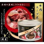 文永堂 RN国産 牛肉スープ煮缶 160g [キャンセル・変更・返品不可]