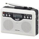 ラジオカセット(MP3へデジタル録音/カセット録音不可) (CAS-381Z) [キャンセル・変更・返品不可]