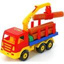 【[模型玩具・乗り物] スーパートラック木材運搬車】[返品・交換・キャンセル不可]