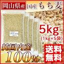 国産 もち麦 5kg 岡山県産(純国内産10割) [送料無料]