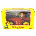 おさるのジョージ ウッドカー 12 Curious George 木製 車 ミニカー WOOD CAR おもちゃ 木のおもちゃ 海外 インポート メール便不可