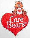 ショッピングケアベア ケアベア(Care Bears) ワッペン ロゴ 2019l インポート キャラクター 雑貨 グッズ 輸入 アップリケ 手芸 ハート アイロン 送料無料 ゆうパケット配送