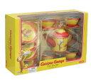 おさるのジョージ ティン 15ピース ティーセット 2510 Curious George Tin Tea Set 15 Piece Set おもちゃ おままごと おうちごっこ インポート メール便不可