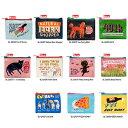 楽天キャラクター雑貨 プレッツェルアメリカBlueQ社のリサイクルバッグシリーズ コインやカードなど小物の収納に「コインパース Cat Butts」BL-QA527| 輸入 おしゃれ かわいい pud240