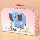 【クルテク】スーツケース ゾウ柄(L) MOLE30-8850   輸入 おしゃれ かわいい プレゼント グッズ 小物 インテリア ホビー ポップ pud444