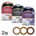 ピエナージュ(PienAge)2箱セット ( 1日使い捨て / カラコン / カラーコンタクト / マギー )