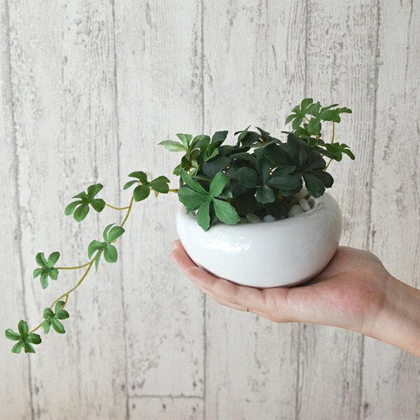 フェイクグリーン 人工観葉植物 造花 ミニ シ...の紹介画像3