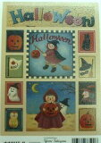 ギフトシール ハロウィン Halloween エンボス調