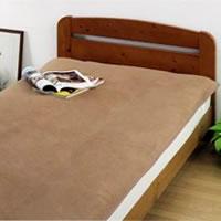 送料無料 キャメル高級 【敷】毛布 洗えるキャメル敷毛布