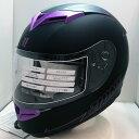 【送料無料】 バイク フルフェイスヘルメット LEAD ZIONE(ジオーネ) パープル LLサイズ(61-62cm) ZIONE-PP-LL SG規格 PSCマーク付き メンズ レディース 男女専用 全排気量対応
