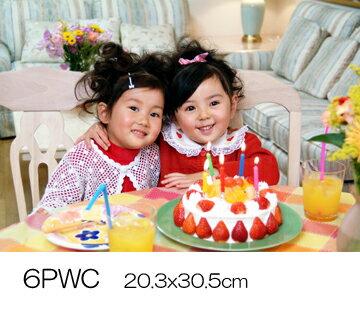 デジカメプリント 6ワイド写真現像 (6PWC305x203mm)