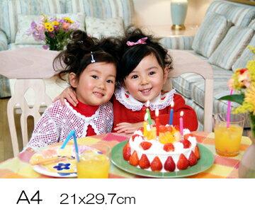 デジカメプリント A4 写真現像  (297x210mm)