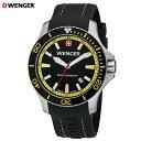 【送料無料】WENGER Sea Force シーフォース 腕時計WENGER ウェンガー Sea Force シーフォース 腕時計 ブラック×イエロー 01.0641.101 (sb)【送料無料】【あす楽対応】