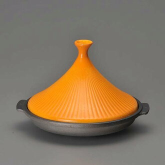 Earthenware pot-like Al Jin Mita pan (.1 19cm use) yellow