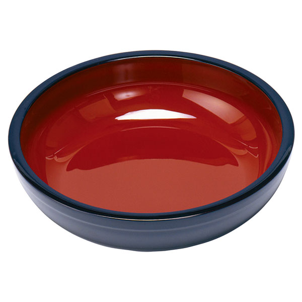 For Soba & udon Soba dough bowls (kurouchi red) diameter 36 cm