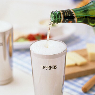 Thermos vacuum insulated ビアタンブラー beer glass tumbler mug fs3gm