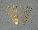 カクテルピン3本セット・ゴールド(柱型)
