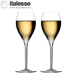 Italesse Grand Cru, champagne glasses, set of 2
