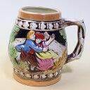 ドイツ風 ビアジョッキ 小 タル型 花瓶 置物 陶器 ビールジョッキ ビアマグ 訳あり セール sale 【あす楽】