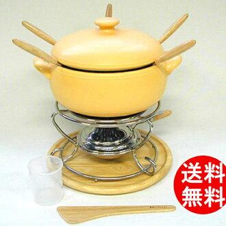 K + DEP (ケデップ) 火鍋集 20 釐米黃色 (KY-602) 火鍋鍋火鍋鍋火鍋集