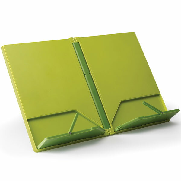 Joseph Joseph recipe book stand green recipe stand, music stand, Tablet, Tablet holder stand