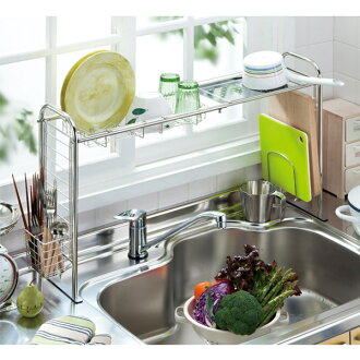 Stainless steel・Sink throating rack 5piece set