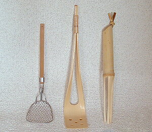 Tofu scoop bamboo fs3gm for Yudofu