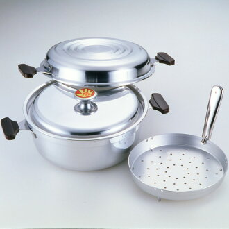 Popular pot for many years! Decompression feature with waterless cooking NEW Yoshioka pot, no. 12